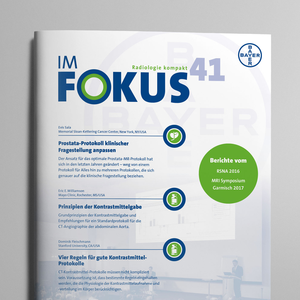 """Bayer Magazin """"Im Fokus"""""""
