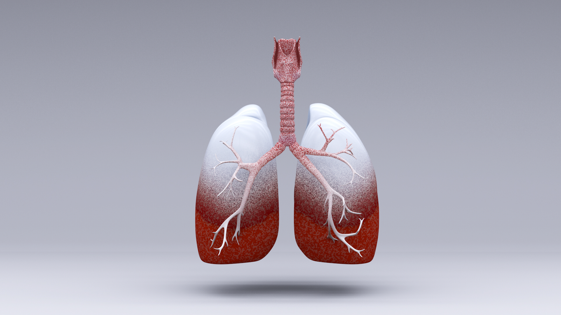Increasing lung infection